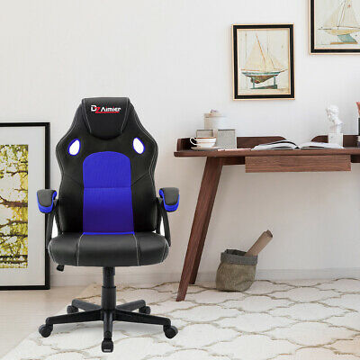 £54.99 • Buy Sport Racing Gaming Chairs Car Seat Office Armchair Executive Computer Chair UK