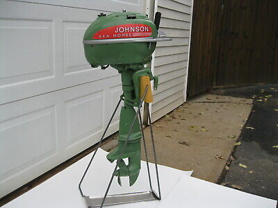 AU132.41 • Buy  New Vintage Looking Outboard Motor Stand Boat Johnson Evinrude Mercury Elto