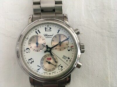 £1250 • Buy Chopard Mens Classic Mille Miglia Chronograph Watch Ex. Condition No 437528/8271