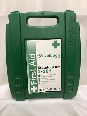 £8.95 • Buy Empty First Aid Box 1-10 People Green Plastic VGC