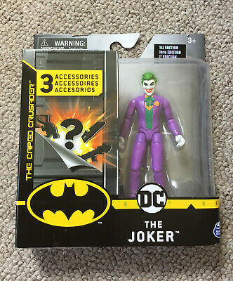 """£6.55 • Buy New DC The Joker Figure With 3 Mystery Accessories 4"""" Figure."""