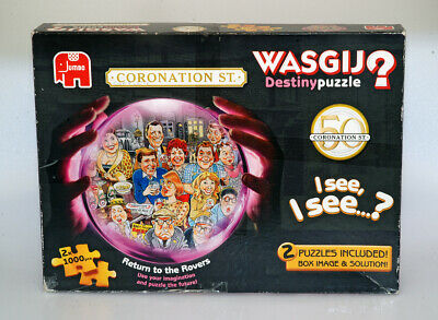 £6.95 • Buy Wasgij Destiny Two Puzzles Included 50 Years Coronation Street Rover's Return