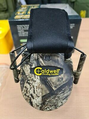 £60.99 • Buy Mossy Oak Caldwell Electronic Ear Defenders Safe Shooting Earmuffs Protection