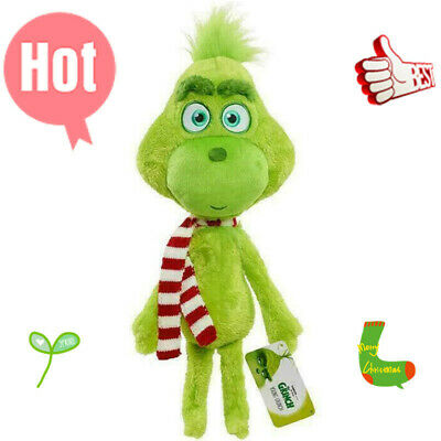 £5.39 • Buy 12  Scarf Grinch Plush Toy Dr-Seuss How The-Grinch Stole Christmas Stuffed Doll.
