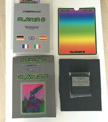 £84.64 • Buy MB Vectrex -  PLAYER 2  Videogame, CIB Complete In Box *NEW* Homebrew W/ Overlay