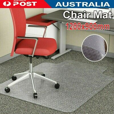 AU41.79 • Buy Home Office PVC Chairmat Chair Mat For Carpet Hard Floor Protector Computer Work