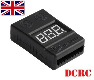 £3.99 • Buy RC Lipo Battery Low Voltage Alarm 1S-8S Buzzer Indicator Checker Tester UK Fast