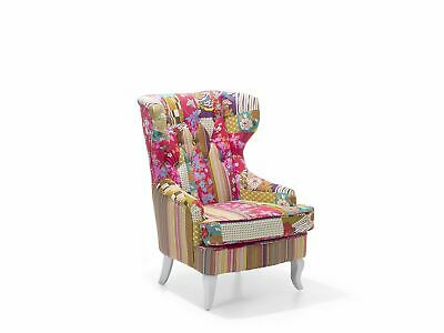 £399.99 • Buy Button Tufted Accent Armchair Multi-Colour Upholstery Molde