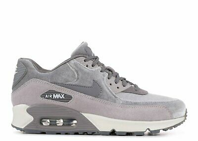 $ CDN251.76 • Buy Womens Nike Air Max 90 Lx Velvet Casual Shoes Sneakers Trainers Size 12