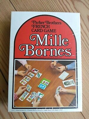 $49.99 • Buy New Vintage 1971 Mille Bornes Parker Brothers French Card Game-completely Sealed