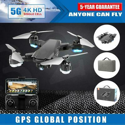 AU106.99 • Buy With 5G GPS Drone Wifi FPV 4K HD Camera RC Optical Quadcopter Brushless Dron
