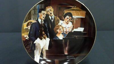 $ CDN13.83 • Buy Light Campaign Norman Rockwell Edwin M. Knowles Plate 1984 Fine China 1949G CHOP