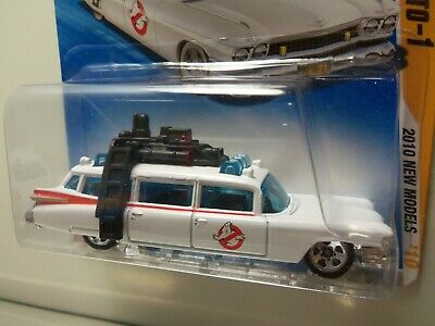 £4.74 • Buy  2010 Hot Wheels New Models Ghostbusters Ecto-1 #025/240 - MOC - 1/64 Scale