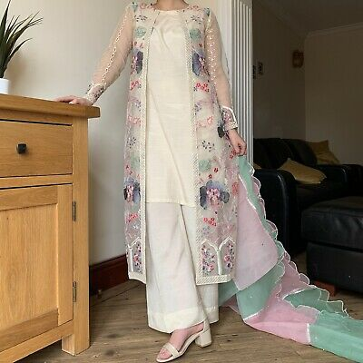 £55 • Buy Pakistani Designer Suits Stitched Indian Gown
