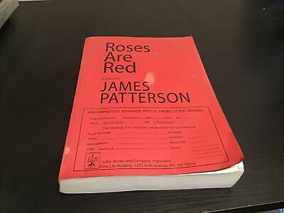 £10.91 • Buy Roses Are Red By James Patterson Uncorrected Advance Proof (Galley, ARC)
