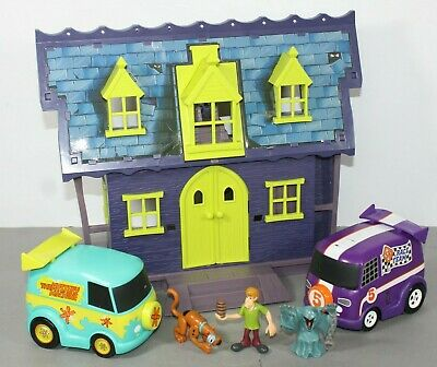 £24.79 • Buy Scooby Doo Haunted Mansion Playset Figures & 2 Vehicles Inc Mystery Machine