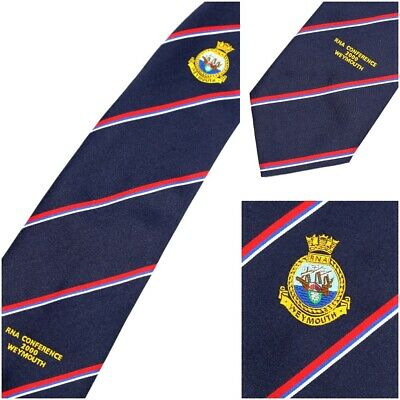 £17.95 • Buy RNA Conference 2000 Weymouth Royal Navy Association Nautical - Vintage 3.5  Tie