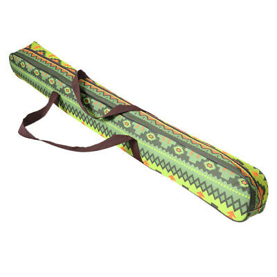 AU24.93 • Buy Camping Tent Pole Storage Bag Outdoor Canopy Awning Rod Carrier Green 125cm