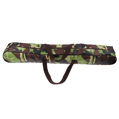 AU21.98 • Buy Camping Tent Pole Storage Bag Outdoor Canopy Awning Rod Carrier Camo 98cm