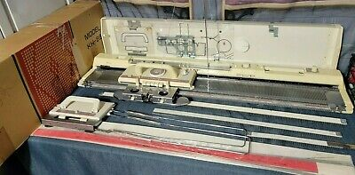 £435.77 • Buy Brother / Knitking KH891 Punch Card Knitting Machine Manual Table Clamps More