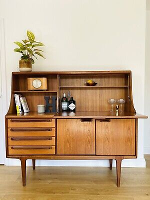 £500 • Buy Mid Century Vintage Younger Teak Highboard / High Sideboard - Delivery Available