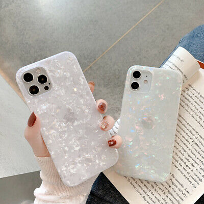AU6.99 • Buy Granite Marble Phone Case Square Cover For IPhone 7 8 Plus XR XS 11 12 Pro MAX
