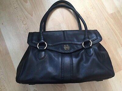 £30 • Buy *BAILEY & QUINN* Quality Black Leather Statement Bag REDUCED CLEARANCE £ 30