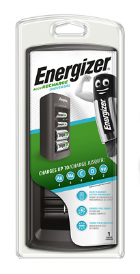 £19.45 • Buy Energizer Universal Rechargeable Battery Charger For AA AAA C D & 9V Batteries