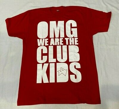 £19.99 • Buy Babycakes Tshirt   We Are The Club Kids Red