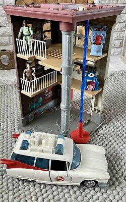 £150 • Buy Vintage Ghostbusters HQ, Ecto-1 Car And Figurines