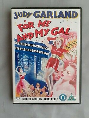 £8.49 • Buy For Me And My Gal ( DVD - 1942 - Free P+p ) Judy Garland / Busby Berkeley