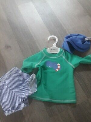 £12 • Buy Boys 0 To 3 Months Swimset