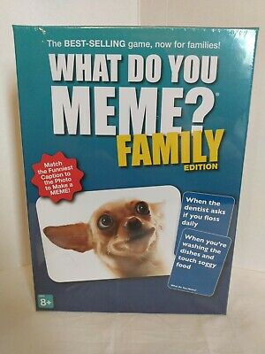 AU25.40 • Buy WHAT DO YOU MEME? Family Edition Game 2020.