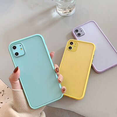 £3.17 • Buy Simple Solid Color Phone Case Anti-fall Women Soft Shell