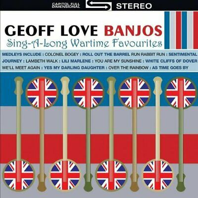 £4.50 • Buy Geoff Love Banjos / 50 Sing-A-Long Wartime Hits *NEW CD*