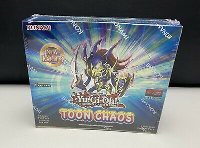 £249.99 • Buy Yu-Gi-Oh! Toon Chaos 1st Edition Factory Sealed Booster Box