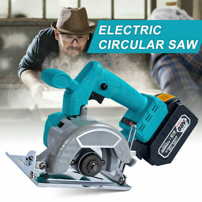 £79.99 • Buy Replace For Makita 18V Battery Electric Cordless Circular Saw Wood Cutting Tool