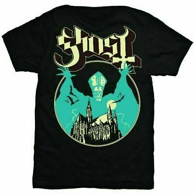$14.99 • Buy Official Ghost BC T Shirt Opus Eponymous Black Classic Rock Metal Band Mens Tee