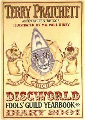 £6.80 • Buy Discworld Fools Guild Yearbook And Diary 2001, Pratchett, Terry & Briggs, Stephe