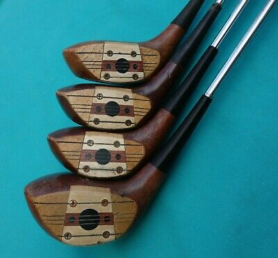 $270 • Buy Vintage MacGregor Tommy Armour VELOCITIZED SS1W  #1,2,3,4 Wood Set PR0-PEL 1
