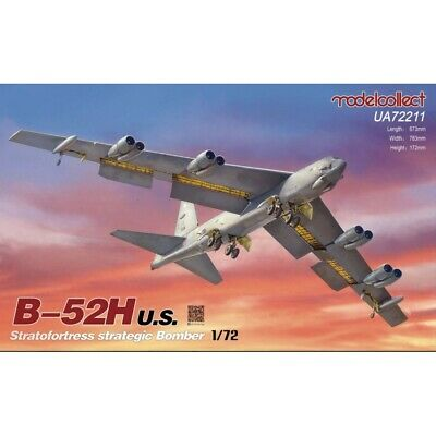 £82.99 • Buy Modelcollect UA72211 1:72nd Scale B-52H U.S. Stratofortres Strategic Bomber