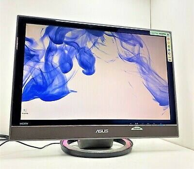 AU93.41 • Buy Asus LS221H 22  PC MONITOR SCREEN VGA/HDMI 2ms PROTECTION GLASS LED STAND (88)