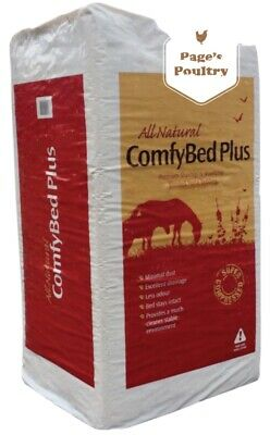 £16.99 • Buy ComfyBed Plus Shavings & Woodchip Horse Or Chicken Bedding 24kg *Next Day Del*