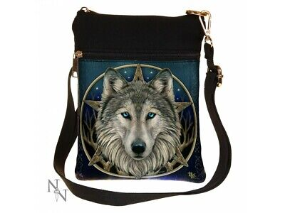 £15.99 • Buy New Shoulder Bag 'wild One' Wolf Lisa Parker Small Ladies Nemesis Now