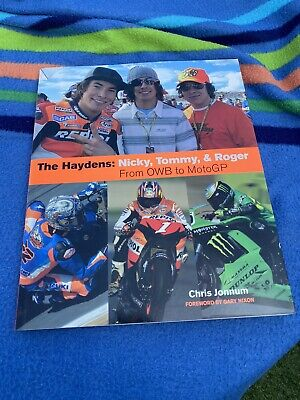 £110 • Buy The Haydens: Nicky, Tommy & Roger By Chris Jonnum Book OWB To Moto GP Collectors
