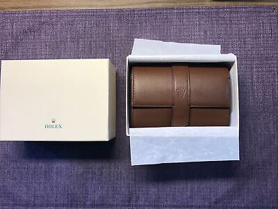 $ CDN662.06 • Buy Rolex 2 Watches  Leather Travel Pocket Pouch;. Case .2020 New Style❗️W/ Gift Box