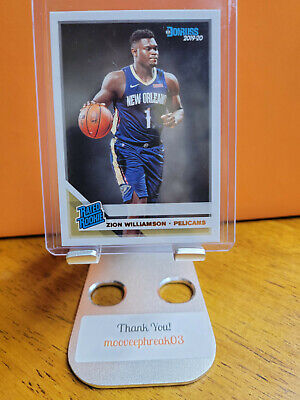 $25 • Buy 2019-20 Donruss Rated Rookie ZION WILLIAMSON #201