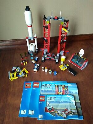 £15.49 • Buy LEGO 3368 City Space Center 2011 W/ 3 Instruction Manuals - 95% Complete READ