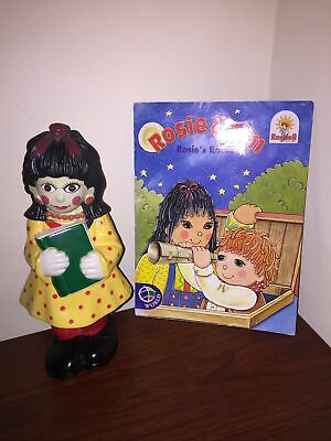 £21.85 • Buy Shaped Empty Bubble Bath Doll Rosie And Jim Rosie's Rocket Paperback Book VGC