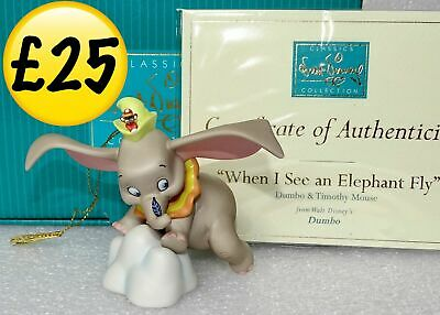 £25 • Buy WDCC Dumbo & Timmy 1998 2-Day Event Figure Walt Classics Collection Retired